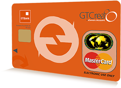 Image result for gtcrea8  atm card