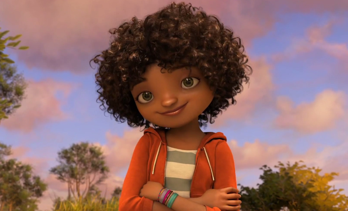 Cartoon Characters With Curly Hair : Rihanna home animated movie tag gtcrea