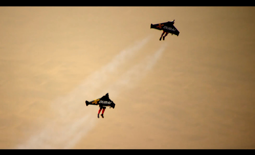 Jetman Dubai flight