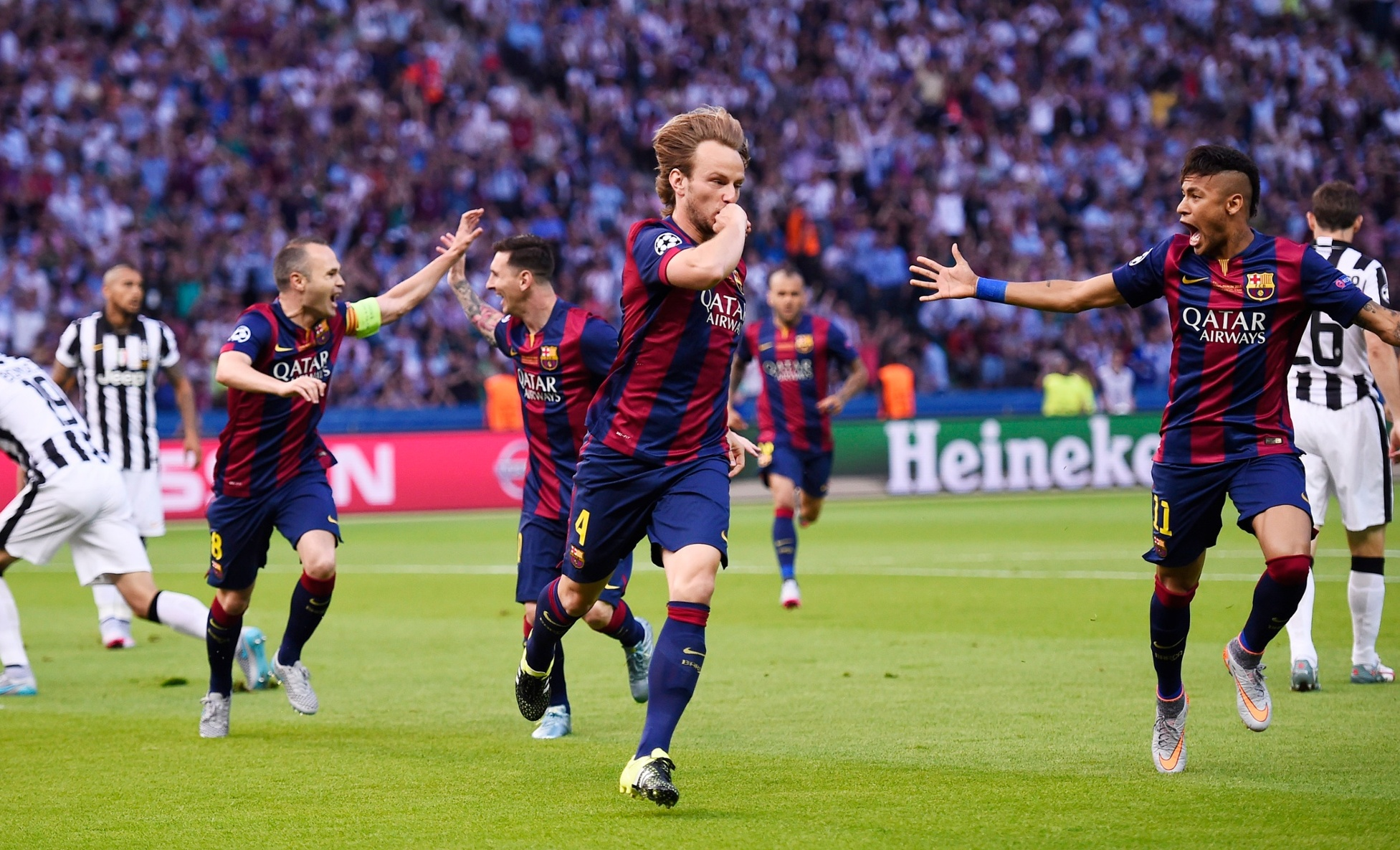 Rakitic goal Champions League final