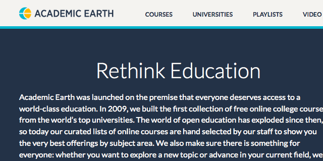 Academic Earth