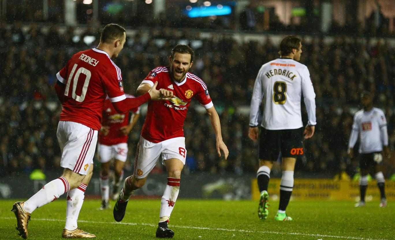 Manchester United Derby County goals