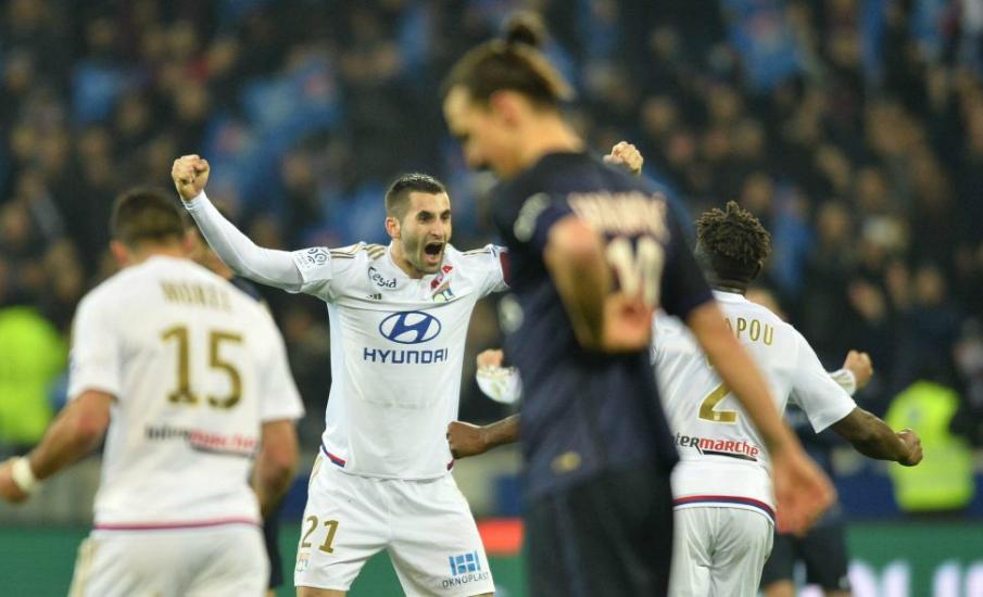 Lyon PSG 2-1 2016