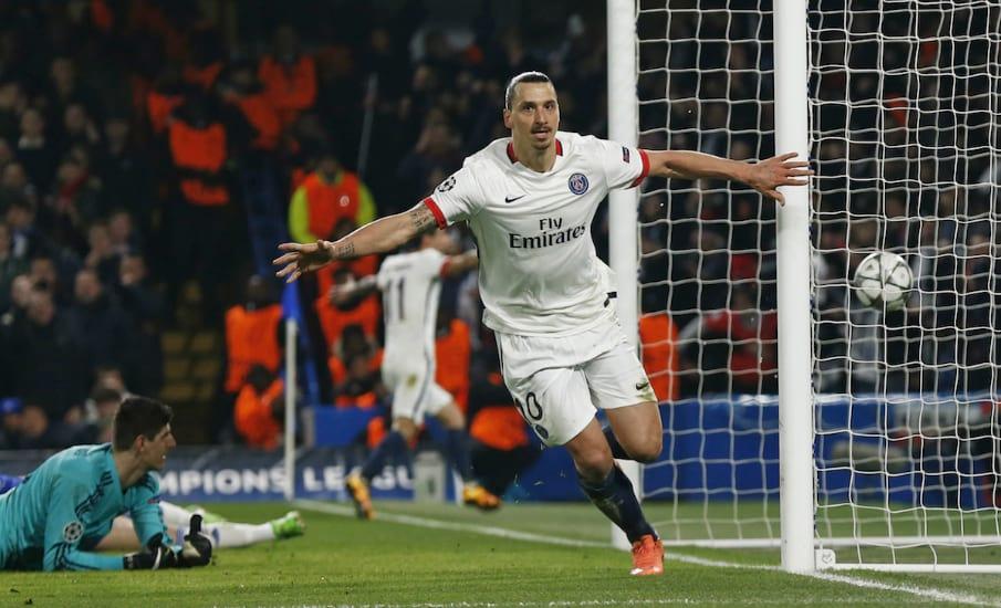 Zlatan Ibrahimović goal Chelsea