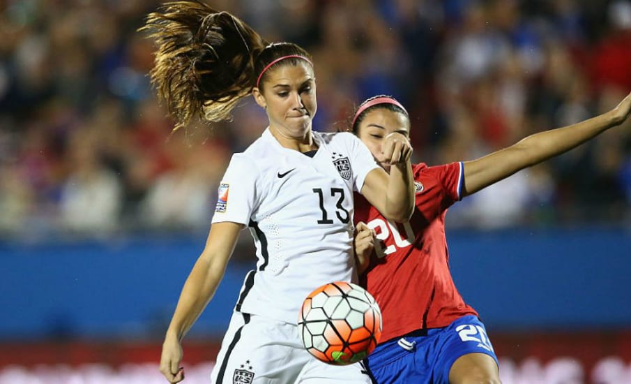Alex Morgan goal USWNT Germany